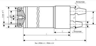 Мощный коаксиальный резистор от 20 - 50 кВт водяного охлаждения