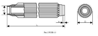 Мощный коаксиальный резистор от 1,5 до 7,5 кВт